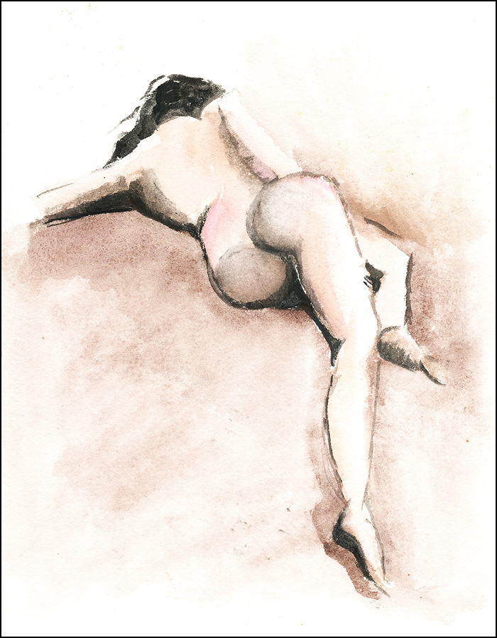 watercolournude