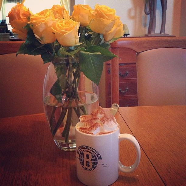 roses & coffee