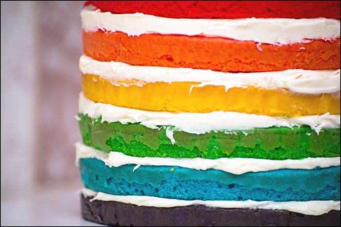 layer cake is little making a rainbow swirl cake is rainbow layer cake ...